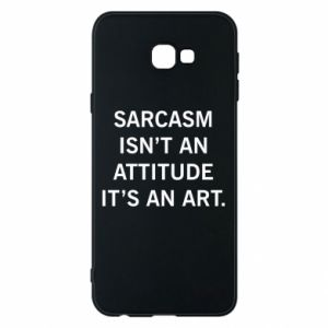 Etui na Samsung J4 Plus 2018 Sarcasm isn't an attitude it's an art