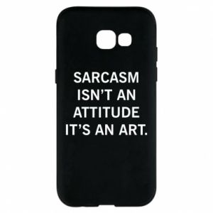 Etui na Samsung A5 2017 Sarcasm isn't an attitude it's an art