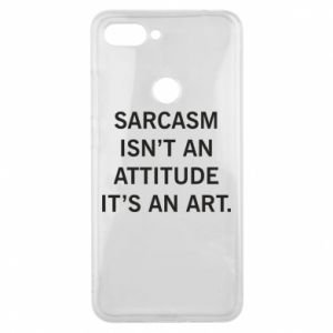 Etui na Xiaomi Mi8 Lite Sarcasm isn't an attitude it's an art