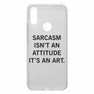 Etui na Xiaomi Redmi 7 Sarcasm isn't an attitude it's an art