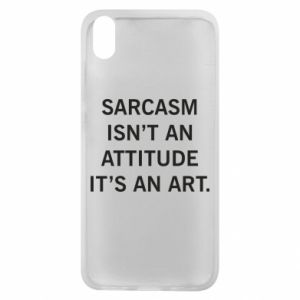 Etui na Xiaomi Redmi 7A Sarcasm isn't an attitude it's an art