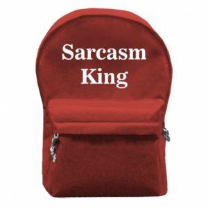 Plecak z przednią kieszenią Sarcasm king