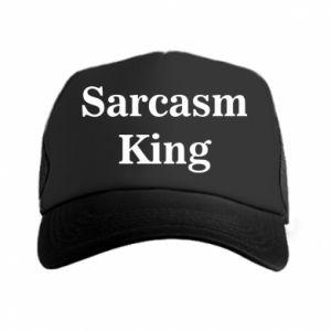 Czapka trucker Sarcasm king