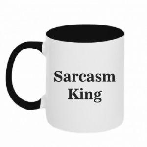 Kubek dwukolorowy Sarcasm king