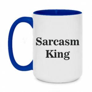 Kubek dwukolorowy 450ml Sarcasm king