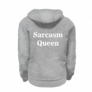 Bluza na zamek dziecięca Sarcasm queen
