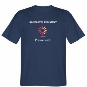 Koszulka męska Sarcastic comment