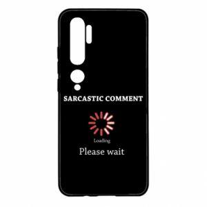 Etui na Xiaomi Mi Note 10 Sarcastic comment