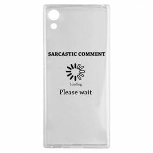 Etui na Sony Xperia XA1 Sarcastic comment