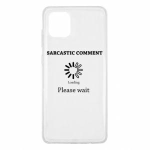 Etui na Samsung Note 10 Lite Sarcastic comment