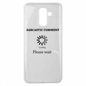 Etui na Samsung J8 2018 Sarcastic comment