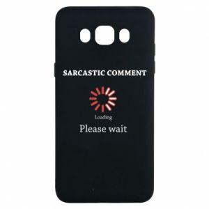 Etui na Samsung J7 2016 Sarcastic comment