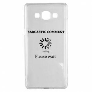 Etui na Samsung A5 2015 Sarcastic comment