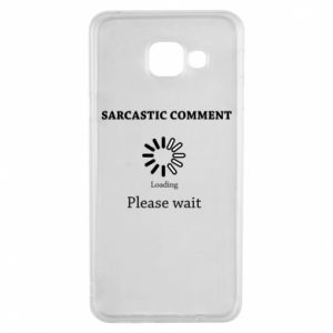 Etui na Samsung A3 2016 Sarcastic comment