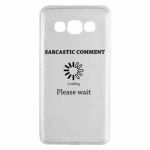 Etui na Samsung A3 2015 Sarcastic comment