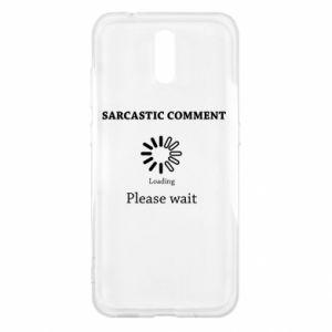 Etui na Nokia 2.3 Sarcastic comment