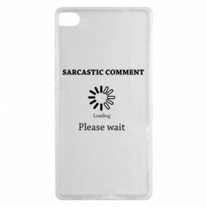 Etui na Huawei P8 Sarcastic comment
