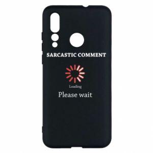 Etui na Huawei Nova 4 Sarcastic comment