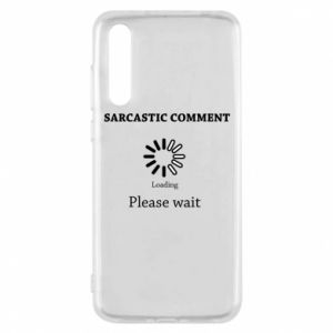 Etui na Huawei P20 Pro Sarcastic comment