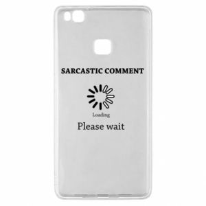 Etui na Huawei P9 Lite Sarcastic comment