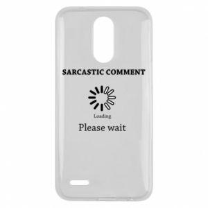 Etui na Lg K10 2017 Sarcastic comment