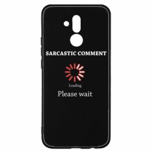 Etui na Huawei Mate 20 Lite Sarcastic comment