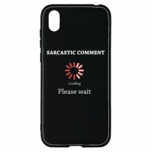 Etui na Huawei Y5 2019 Sarcastic comment