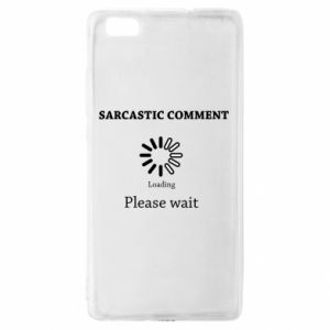 Etui na Huawei P 8 Lite Sarcastic comment