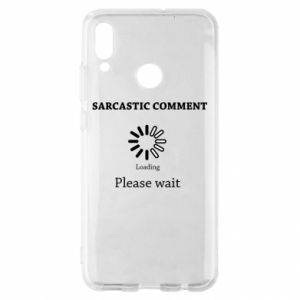 Etui na Huawei P Smart 2019 Sarcastic comment