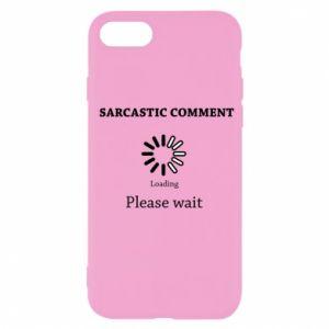 Etui na iPhone SE 2020 Sarcastic comment