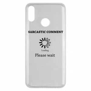 Etui na Huawei Y9 2019 Sarcastic comment