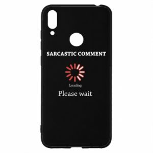 Etui na Huawei Y7 2019 Sarcastic comment