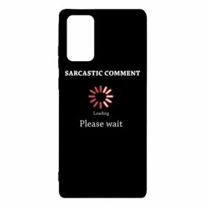 Etui na Samsung Note 20 Sarcastic comment