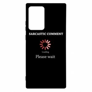 Etui na Samsung Note 20 Ultra Sarcastic comment