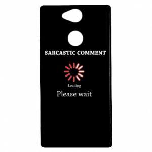 Etui na Sony Xperia XA2 Sarcastic comment