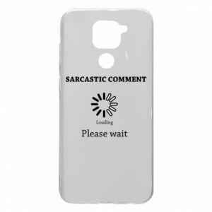 Etui na Xiaomi Redmi Note 9/Redmi 10X Sarcastic comment