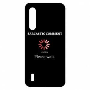 Etui na Xiaomi Mi9 Lite Sarcastic comment