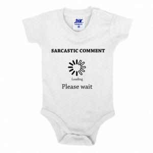Body dziecięce Sarcastic comment