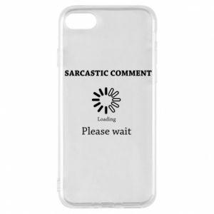 Etui na iPhone 8 Sarcastic comment