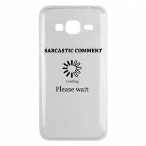 Etui na Samsung J3 2016 Sarcastic comment