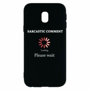 Etui na Samsung J3 2017 Sarcastic comment
