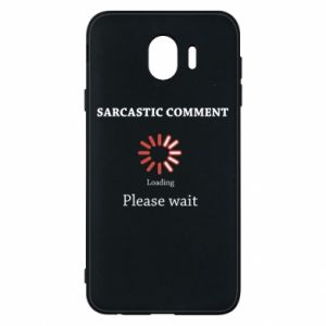 Etui na Samsung J4 Sarcastic comment