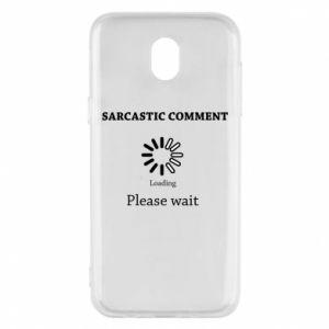 Etui na Samsung J5 2017 Sarcastic comment