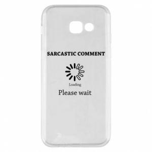 Etui na Samsung A5 2017 Sarcastic comment