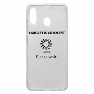 Etui na Samsung A30 Sarcastic comment