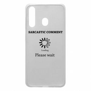 Etui na Samsung A60 Sarcastic comment