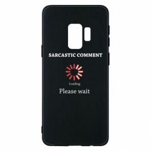Etui na Samsung S9 Sarcastic comment
