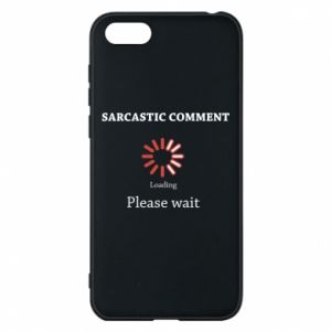 Etui na Huawei Y5 2018 Sarcastic comment