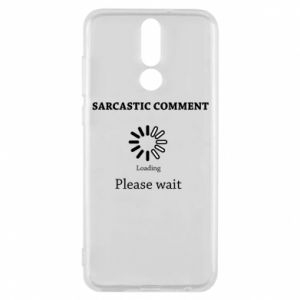 Etui na Huawei Mate 10 Lite Sarcastic comment
