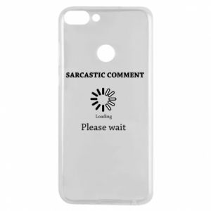 Etui na Huawei P Smart Sarcastic comment